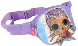 L.O.L. Surprise! Ledvinka 3D holčičí batůžek s ploutvičkou fialová - zvětšit obrázek