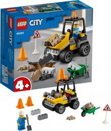 LEGO CITY Náklaďák silničářů 60284 STAVEBNICE - zvětšit obrázek