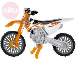 SIKU Motorka terénní KTM SX-F 450 cross model kov 1391 - zvětšit obrázek
