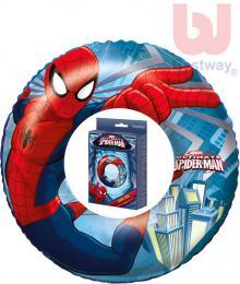 BESTWAY Dětský kruh nafukovací 56cm plavací kolo do vody Spiderman 98003 - zvětšit obrázek
