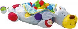 NINY Pejsek Ipo velký set se 60 míčky baby bazének s chrastítky na zip - zvětšit obrázek