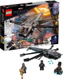 LEGO SUPER HEROES Black Panther a dračí letoun 76186 STAVEBNICE - zvětšit obrázek