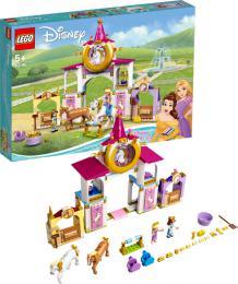 LEGO DISNEY PRINCESS Královské stáje Krásky a Lociky 43195 STAVEBNICE - zvětšit obrázek