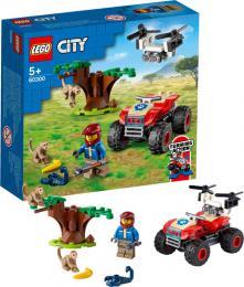 LEGO CITY Záchranářská čtyřkolka do divočiny 60300 STAVEBNICE - zvětšit obrázek