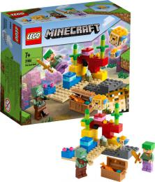 LEGO MINECRAFT Korálový útes 21164 STAVEBNICE - zvětšit obrázek