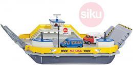 SIKU Trajekt pro přepravu aut 1:50 model set se 2 auty kov 1750 - zvětšit obrázek