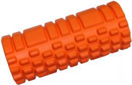 ACRA Válec masážní 33x14cm fitness roller oranžový plast - zvětšit obrázek