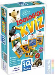 GRANNA Hra IQ Zoologický kvíz *SPOLEČENSKÉ HRY* - zvětšit obrázek