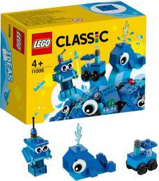 LEGO CLASSIC Modré kreativní kostičky 11006 STAVEBNICE - zvětšit obrázek