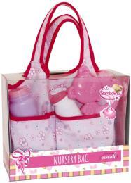 Taška kojenecká s doplňky pro panenku miminko Bambolina - zvětšit obrázek