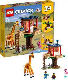 LEGO CREATOR Safari domek na stromě 3v1 31116 STAVEBNICE - zvětšit obrázek
