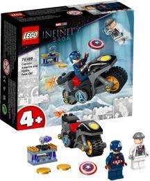 LEGO SUPER HEROES Captain America vs. Hydra 76189 STAVEBNICE - zvětšit obrázek