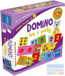 GRANNA Hra Domino s počty *SPOLEČENSKÉ HRY* - zvětšit obrázek