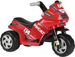 PEG PÉREGO Baby motorka DUCATI MINI EVO 6V tříkolka Elektrické vozítko - zvětšit obrázek