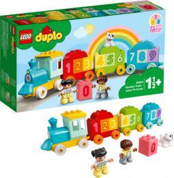 LEGO DUPLO Vláček s čísly – Učíme se počítat 10954 STAVEBNICE - zvětšit obrázek