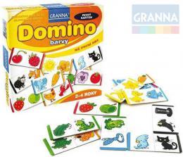 GRANNA Hra Mé první hry - Domino barvy *SPOLEČENSKÉ HRY* - zvětšit obrázek