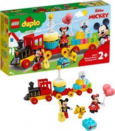 LEGO DUPLO Narozeninový vláček Mickeyho a Minnie 10941 STAVEBNICE - zvětšit obrázek
