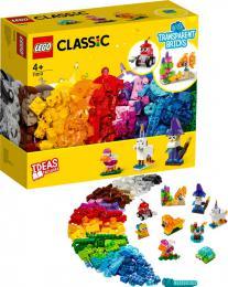 LEGO CLASSIC Průhledné kreativní kostky 11013 STAVEBNICE - zvětšit obrázek