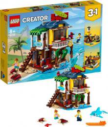 LEGO CREATOR Surfařský dům na pláži 3v1 31118 STAVEBNICE - zvětšit obrázek