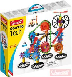 QUERCETTI Georello Gear Tech stavebnice převodová 266 dílků v krabici plast - zvětšit obrázek