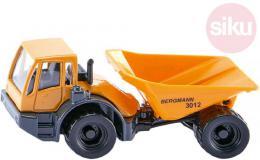 SIKU Auto nákladní na stavbu Bergmann Dumper žlutý model kov 1486 - zvětšit obrázek