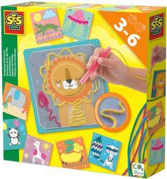 SES CREATIVE Výroba zvířatek z tkaniček kreativní set v krabici - zvětšit obrázek