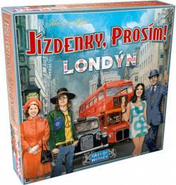 ADC Hra Jízdenky, prosím! Londýn *SPOLEČENSKÉ HRY* - zvětšit obrázek