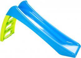 Skluzavka malá modrozelená 116cm s vlhčením plast - zvětšit obrázek