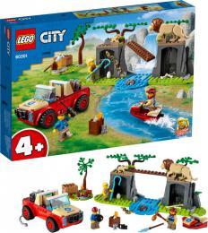 LEGO CITY Záchranářský teréňák do divočiny 60301 STAVEBNICE - zvětšit obrázek