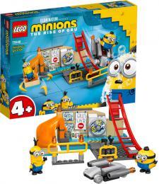 LEGO MINIONS Mimoni v Gruově laboratoři 75546 STAVEBNICE - zvětšit obrázek