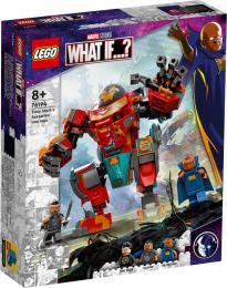 LEGO SUPER HEROES Sakaarianský Iron Man Tonyho Starka 76194 STAVEBNICE - zvětšit obrázek